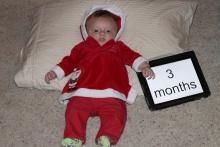 3 Months - Santa's Baby