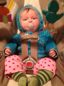 My Daddy dressed me today!