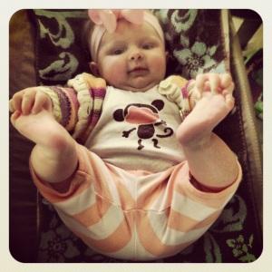 Happy Baby Pose 2 (Feb 2013)