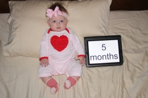 Happy V Day (5 months)