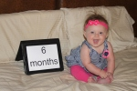 6 month birthday! (1)