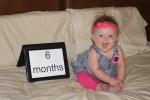 6 month birthday! (1)