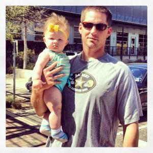 Landri & Daddy 1