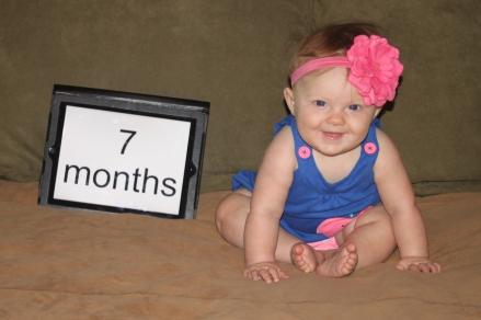 7 months of fun!