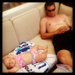 Sleeping Poolside in the Cabana