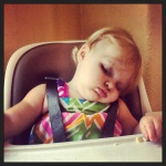 Fell Asleep Eating!