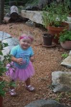 Exploring Mommy's Herb Garden!