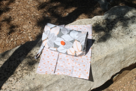 Grab N Go Diaper Clutch with Changing Pad