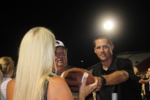 Giving Scott the Game Ball