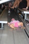 Girl Can Sleep Anywhere!