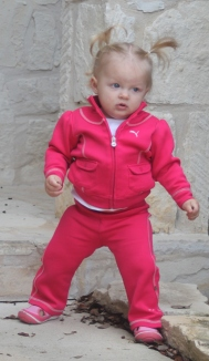 Check out my Puma track suit!