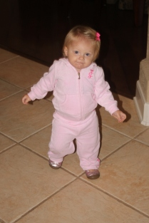 I love my track suit!