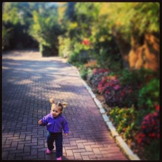 I love to run around by myself!