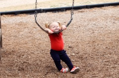 This time Daddy let me almost hang myself!!!