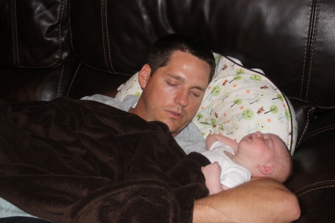 Naptime with Daddy
