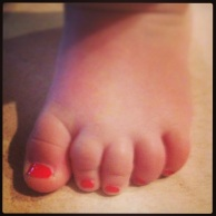 Red Toes!