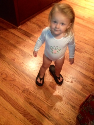 Mommy's beach shoes!