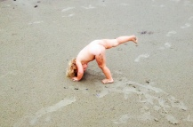 Naked Beach Yoga