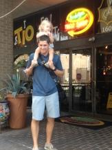 Daddy and Landri