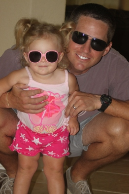 Sunglasses like Daddy!