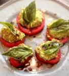 Herbed Pea Ricotta, Tomatoes, & Basil 1