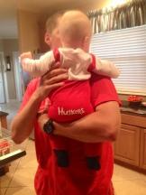 Baby Husker Back