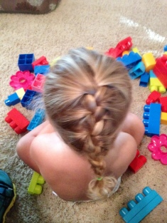 First French Braid!