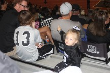 Landri enjoyed the game as always!