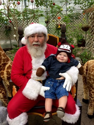 Santa and Rex