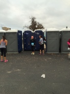 Who doesn't love a porta potty!