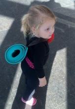 Landri's First Yoga Class (age 2.5) - 2