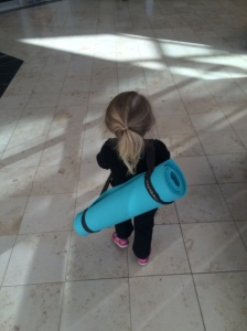Landri's First Yoga Class (age 2.5) - 3