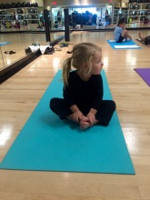 Landri's First Yoga Class (age 2.5) - 4