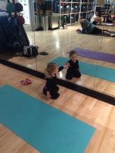 Landri's First Yoga Class (age 2.5) - 5