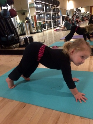 Landri's First Yoga Class (age 2.5) - 7