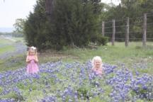 Fun in the flowers!