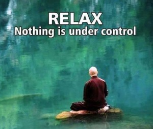 Nothing is under control