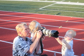 Learning Photography with Momma Kelley!