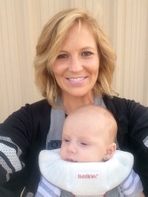Mommy and Ty Baby - First Real Football Game!