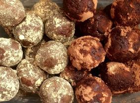 Chocolate Maca Truffles