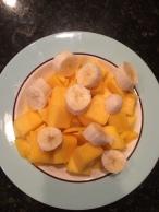 Fresh Mangoes and Banana