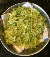 Raw Zucchini Noodles