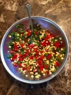 Red Pepper Corn Salsa