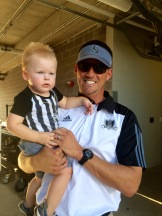 Rex and Daddy Pre-game