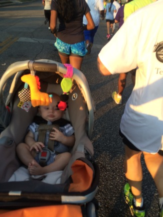 Ty's first race!