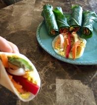 Veggie Tacos and Wraps