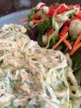 Zucchini Closeup
