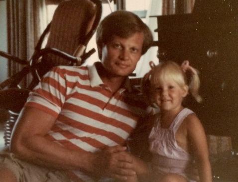 Dad & Megan (age 3)..