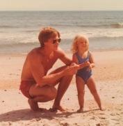Dad & Megan (age 3).