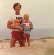 Dad & Megan (age 3)